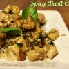 Spicy Basil Chicken Dish
