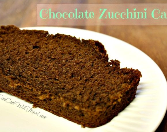 Chocolate Zucchini Cake…Making Life a Bit Sweeter