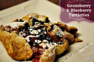 Gooseberry-Blueberry Tartlettes