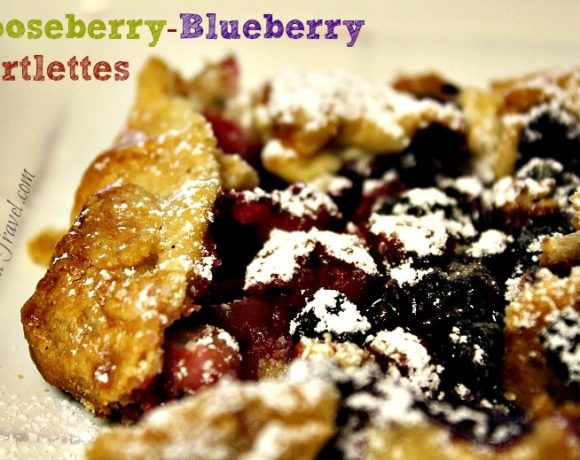 Gooseberry and Blueberry Mini Tarts…When in Doubt…Bake!