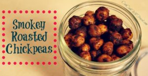 Smokey Roasted Chickpeas Make Snack Time Uber Healthy