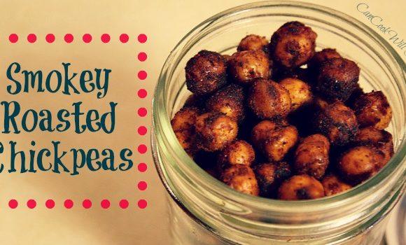 Smokey Roasted Chickpeas Make Snack Time Uber Healthy