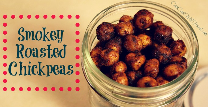 how to make roasted chickpeas on stove