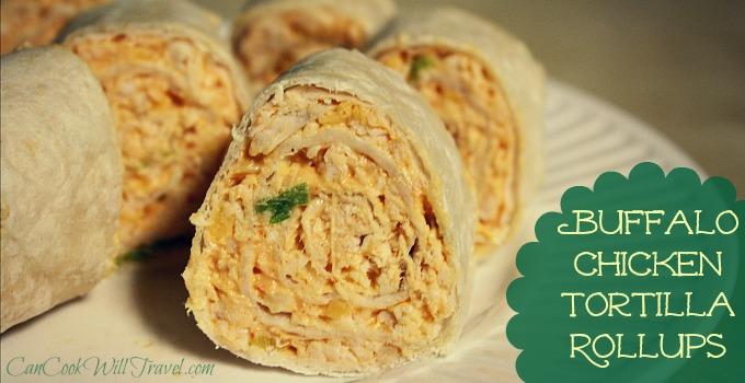 Buffalo Chicken Tortilla Rollups_Slider