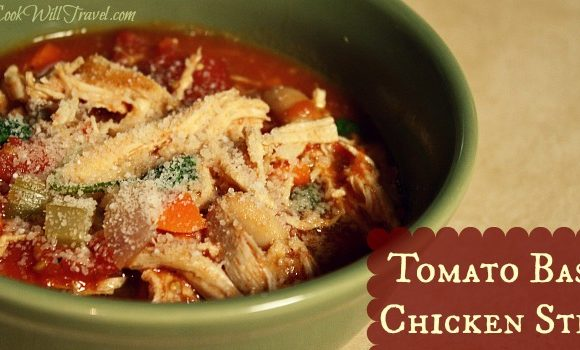 Tomato Basil Chicken Stew – It's Like Fall Gave You a Big Hug