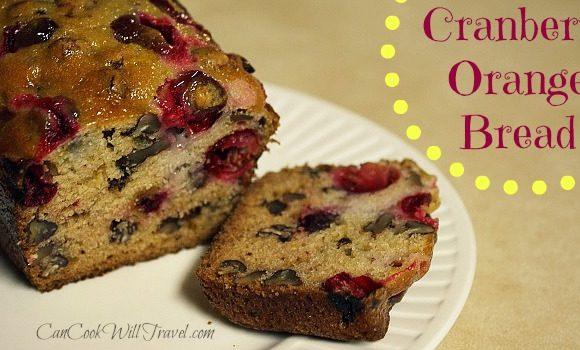 Cranberry Love – Part 2: Cranberry Orange Bread