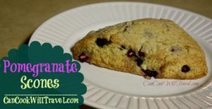 Pomegranate Scones Make Breakfast Delish!