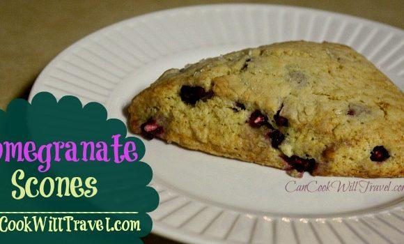 Pomegranate Scones Make Breakfast Delish!