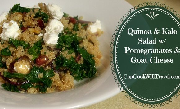 Learning to Love Salads – Part 17: Quinoa and Kale Salad