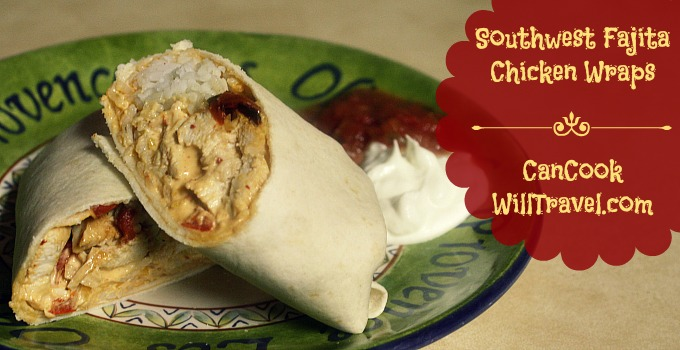 Southwest Fajita Chicken Wraps_Slider2
