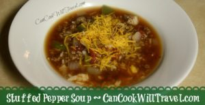 Get Your Soup On with Stuffed Pepper Soup