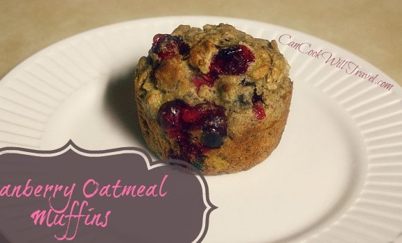 Cranberry Oatmeal Muffins – Making Breakfast Healthier One Muffin at a Time!