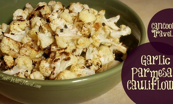 Garlic Parmesan Cauliflower…It's the Right Thing to Do
