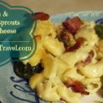 Bacon Brussels Sprouts Mac n Cheese