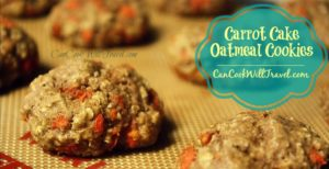 Carrot Cake Oatmeal Cookies = Healthy Cookies In No Time