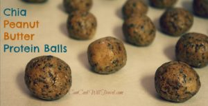 Chia Peanut Butter Protein Balls Make Clean Eating Oh So Good!