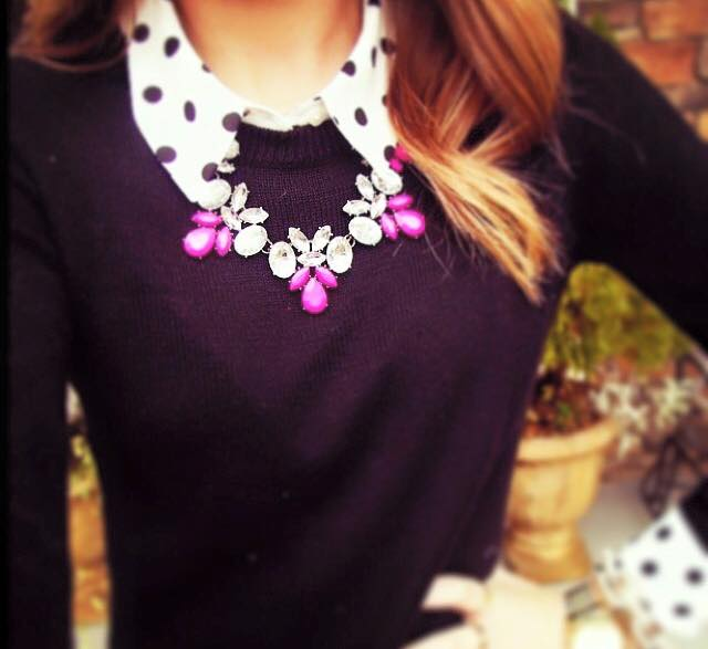 Pink Pop Necklace
