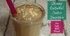 Skinny Oatmeal Cookie Smoothie