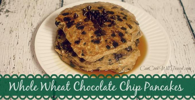 Whole Wheat Choc Chip Pancakes_Slider
