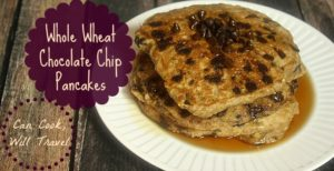 Whole Wheat Chocolate Chip Pancakes Make Breakfast a Whole Lot Better!