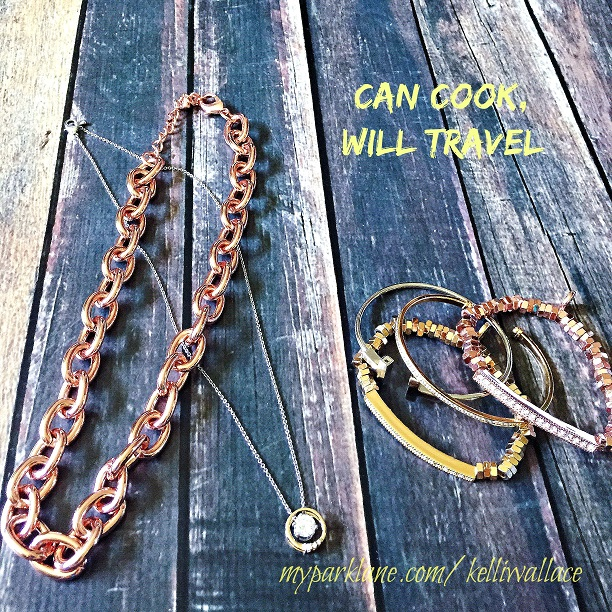 Don't leave home without these pieces that go with numerous looks: Connections necklace and bracelet in all metals, Inner Circle necklace, and the Serena, Terrific, and Encircle bracelets to wear on their own or stack them!