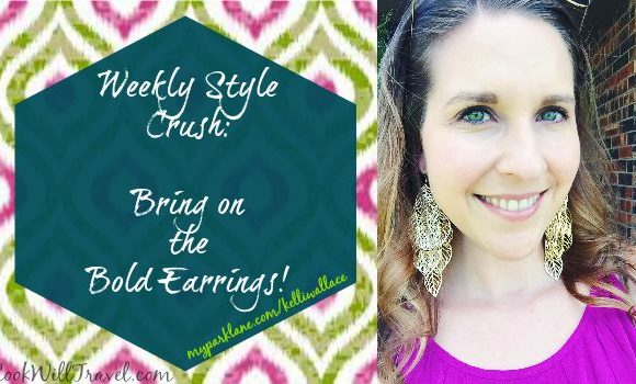 Weekly Style Crush: How and When to Be Bold With Your Earrings
