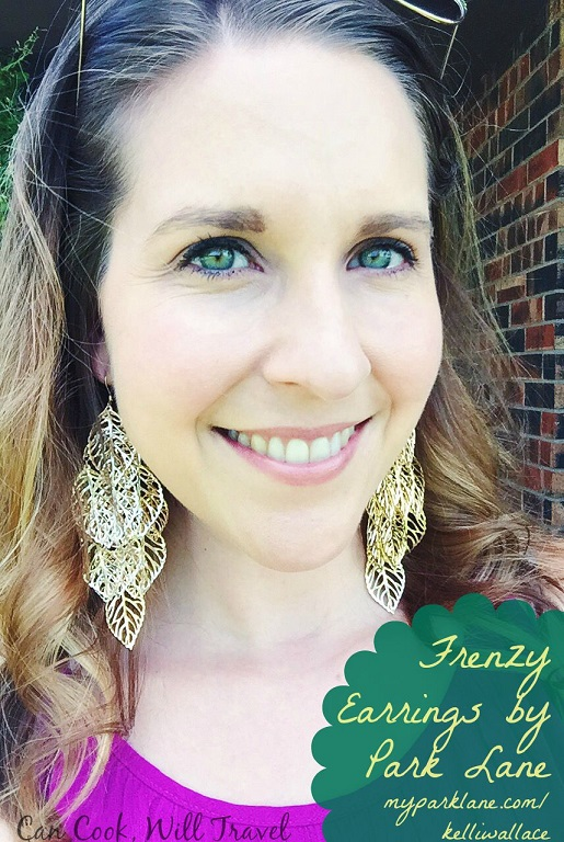 I'm LOVING these Frenzy earrings and they're lightweight and wearable all day.