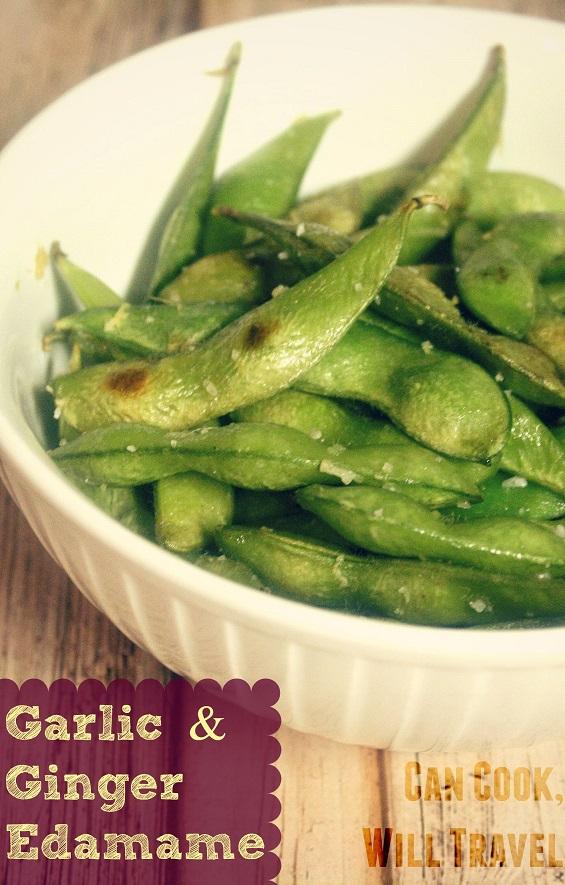 Garlic & Ginger Edamame