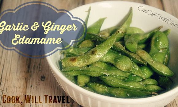 Garlic and Ginger Edamame Is Simply Fabulous