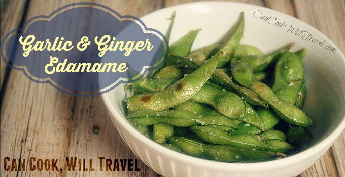 Garlic & Ginger Edamame_Slider