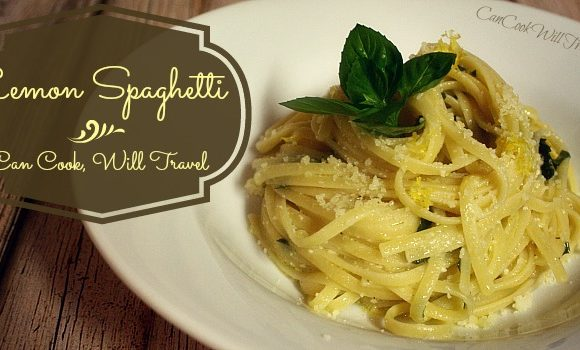 Lemon Spaghetti (Or Linguine In This Case) Is a Family Favorite!