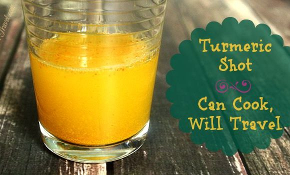Let's Talk Turmeric: Turmeric Shot