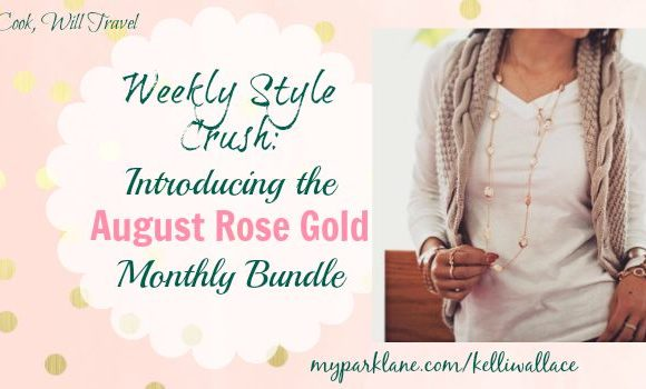 Weekly Style Crush: Bundle Up! Your August Rose Gold Jewelry Bundle Is Here
