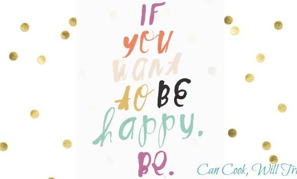 Motivation Monday: Why You Should Be Happy Right Now
