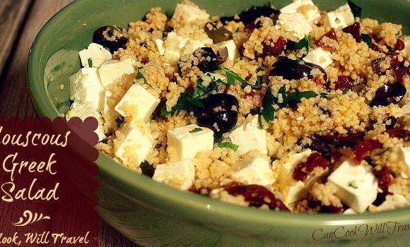 Couscous Greek Salad