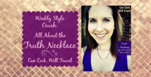 Weekly Style Crush: It's the Truth … The Truth Necklace, That Is!