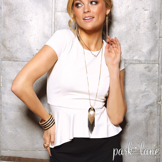 I just love this necklace layered with a longer piece! | Photo Credit: Park Lane Jewelry