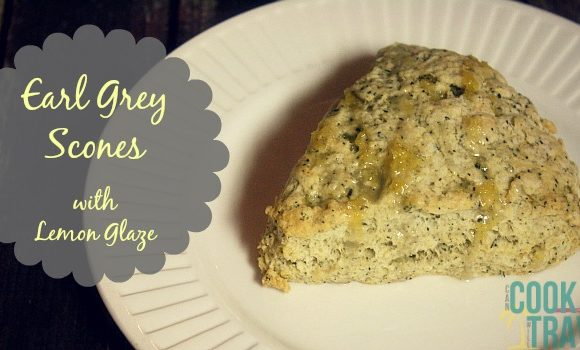 Earl Grey Scones with Lemon Icing – Cheerio, Love!