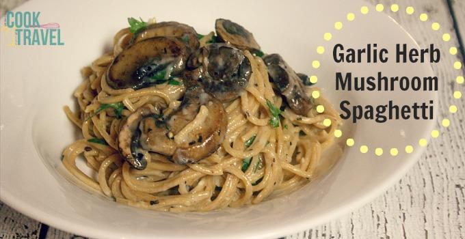 Garlic Herb Mushroom Spaghetti_Slider