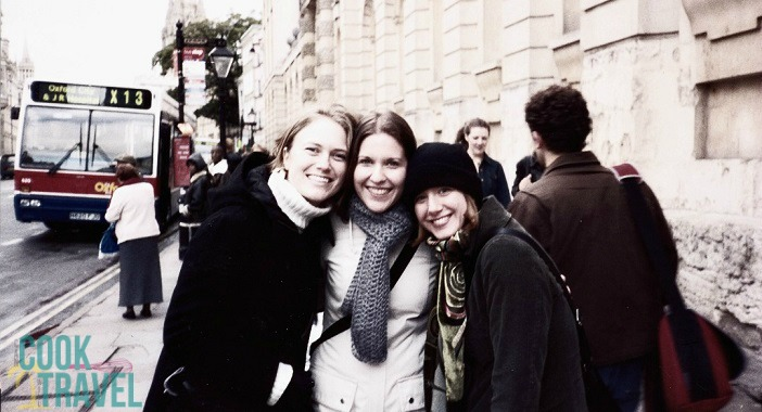 Exploring Oxford with my friends Laura & Jenny on a day trip for grad school. We were so young and adorable!