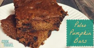 Paleo Pumpkin Bars = How to Satisfy Your Sweet Tooth with No Guilt!