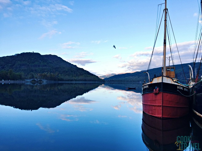 How can you not be in awe by the gorgeous village of Inveraray.