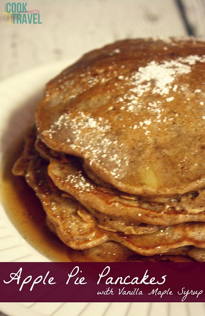 Apple Pie Pancakes