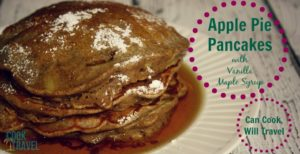 Apple Pie Pancakes … Yes, They're Just as Good as They Sound!