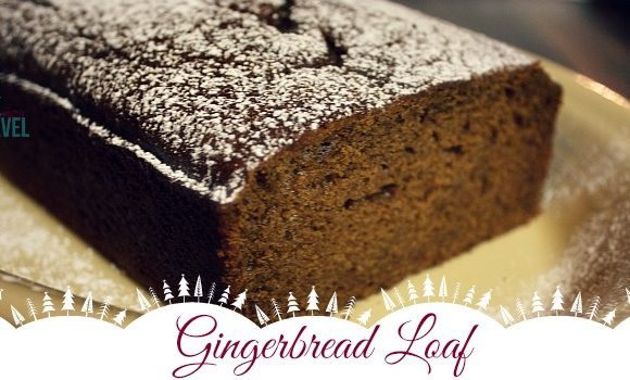 Gingerbread Loaf = Holiday Perfection!