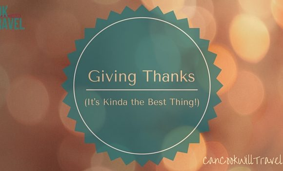 Motivation Monday: Giving Thanks … It's Kinda The Best Thing!