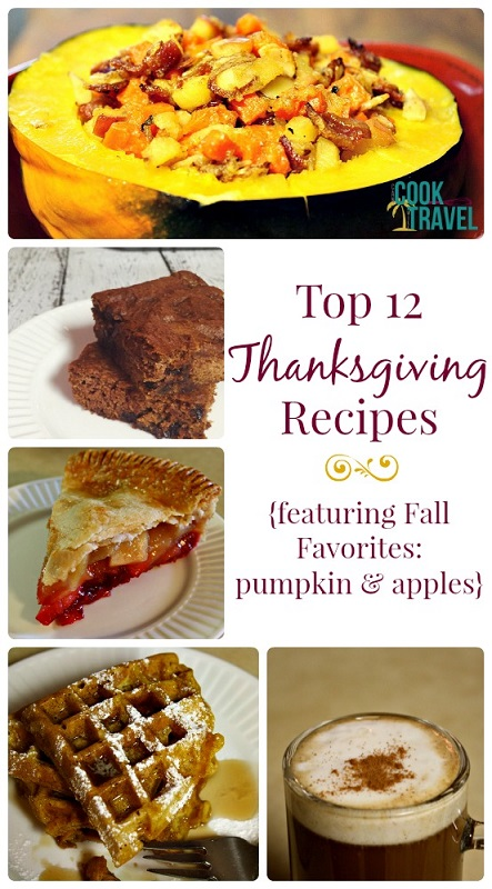 Top 12 Thanksgiving Recipes