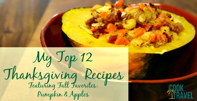 Top 12 Thanksgiving Recipes_Slider