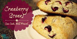 Scones Galore – Round Two: Cranberry Scones