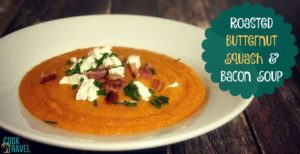 Roasted Butternut Squash and Bacon Soup … Delicious!